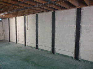 proven repair for bowing cracked basement walls - Fixing Foundation Cracks