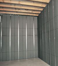 Thermal insulation panels for basement finishing in Gillette, Wyoming